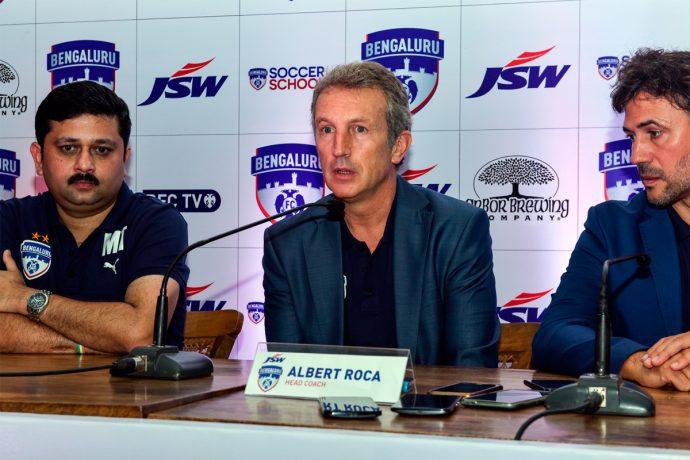 Bengaluru FC coach Albert Roca