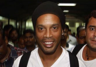 Ronaldinho arrives in India for inaugural Premier Futsal season