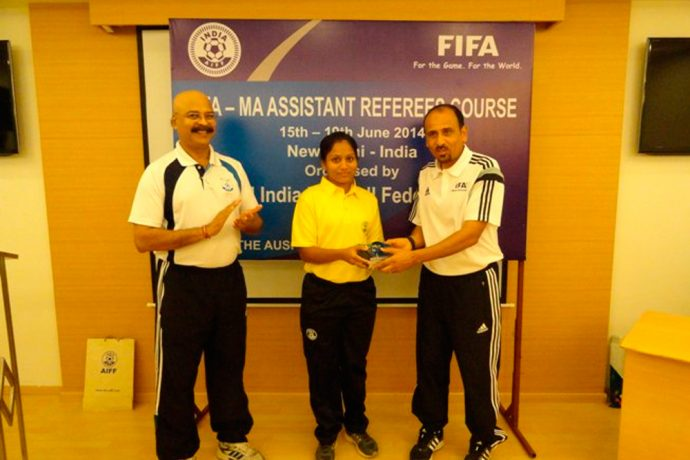 Uvena Fernandes selected to officiate in the FIFA U-17 Women's World Cup