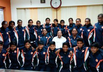 Odisha Junior Women's Team for the Junior Women's National Football Championship 2016