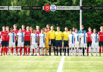India U-16 boys win 5-0 away to Sportfreunde Siegen U-17s in Germany