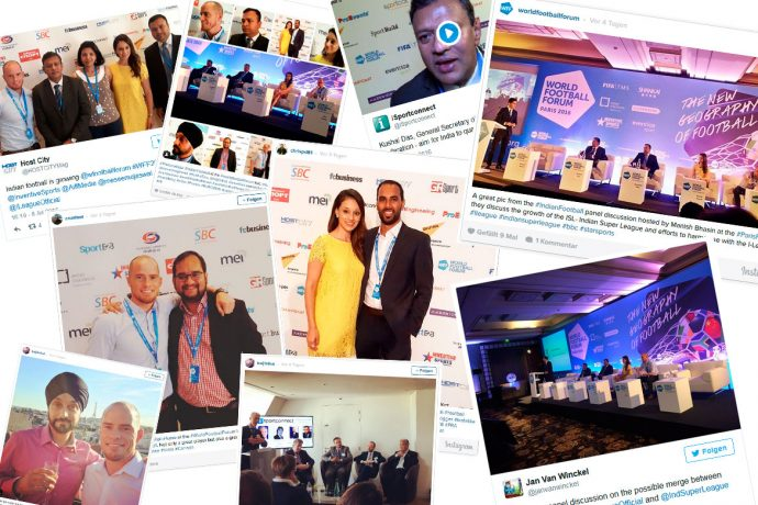 Indian football at the World Football Forum 2016 - Best of Social Media