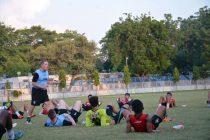 DSK Shivajians FC training session.