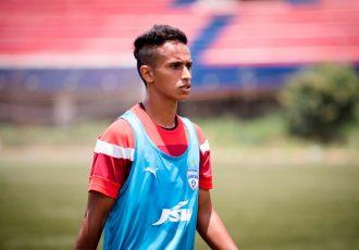 Bengaluru FC defender Gursimrat Singh.
