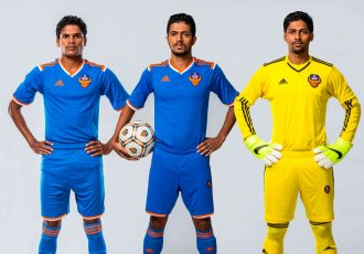 FC Goa stars Romeo Fernandes, Mandar Rao Dessai and Laxmikanth Kattimani