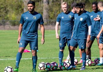 Souvik Chakrabarti and Anas Edathodika undergo trials with A-League club Central Coast Mariners