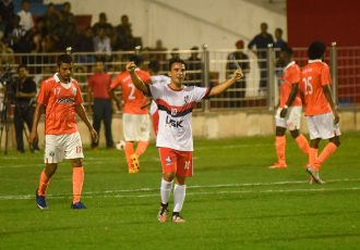 DSK Shivajians FC registered a historic 2-1 victory over Sporting Clube de Goa in the Durand Cup opening match.