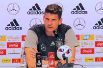 Germany striker Mario Gomez