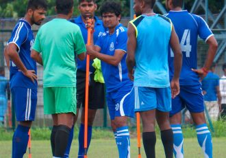 Mohammedan Sporting Club training session.