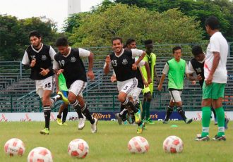 Mohammedan Sporting Club training session.