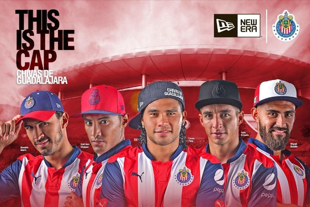 New Era signs deal with Club Deportivo Guadalajara 6898439a96b