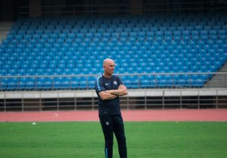 Indian national football team head coach Stephen Constantine.