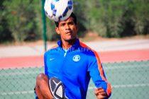 Indian national football team goalkeeper Subrata Pal. (Photo courtesy: AIFF Media)