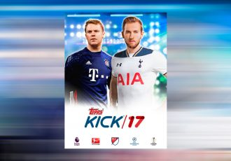 Harry Kane and Manuel Neuer named Topps KICK 2017 Ambassadors