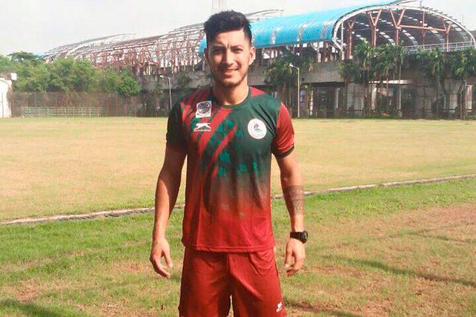 Zohib Islam Amiri of Mohun Bagan AC
