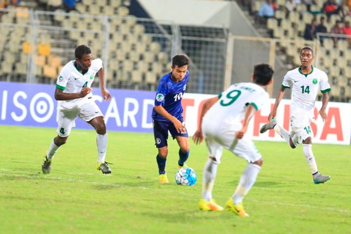AFC U-16 Championship: India U-16 v Saudi Arabia U-16 (Photo courtesy: AIFF Media)