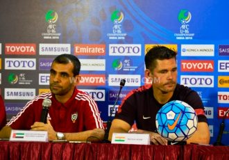 AFC U-16 Championship India 2016 - Press Conference (Photo courtesy: AIFF Media)