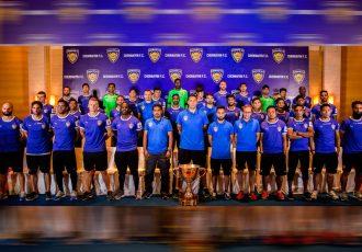 Champions Chennaiyin FC unveil Indian Super League squad