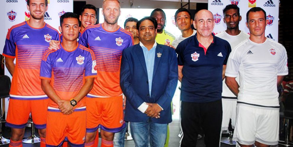 adidas and FC Pune City present new kit for Indian Super League 2016. (Photo courtesy: FC Pune City)