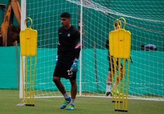 India goalkeeper Gurpreet Singh Sandhu.
