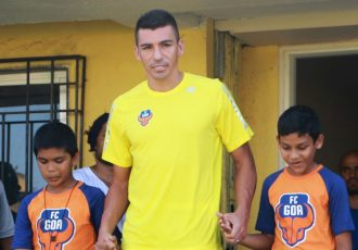 Brazilian star defender Lúcio. (Photo courtesy: FC Goa)