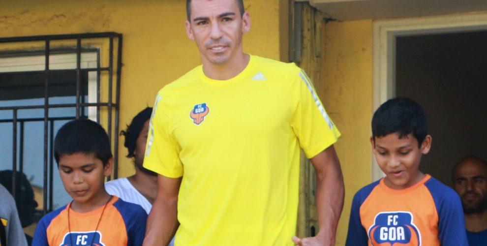 Brazilian star defender Lúcio. (Photo courtesy: FC Goa)
