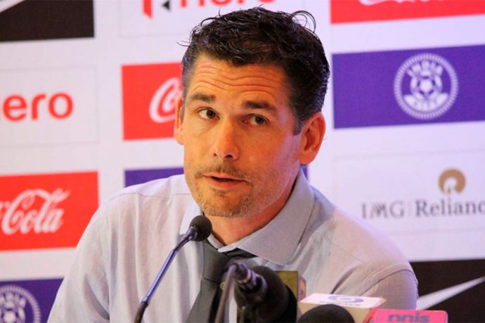 India U-17 national team coach Nicolai Adam