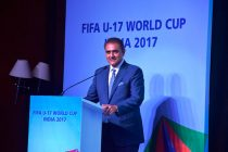 AIFF President Praful Patel. (Photo courtesy: AIFF Media)