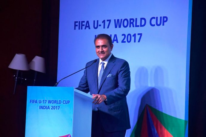 AIFF President Praful Patel. (Photo courtesy: AIFF Media)