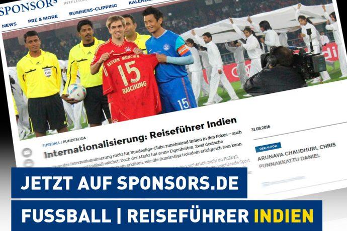 Internationalisierung in Indien: Wie die Fußball-Bundesliga erfolgreich sein kann