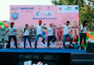 "Subroto Cup celebrates first ever ""Football Utsav"" at Raahgiri Connaught Place"