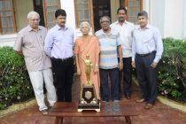 Goa Football Association condole the death of Shashikala Kakodkar
