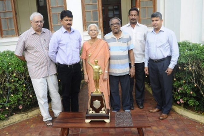 Goa Football Association condole the death of Shashikala Kakodkar