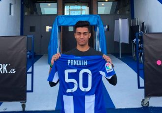 Bengaluru based Ishan Pandita signs contract with LaLiga side CD Leganés. (Photo courtesy: sportstarlive.com)