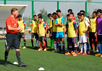 Liverpool FC International Academy & DSK Shivajians launch Player Development Centre in Pune. (Photo courtesy: DSK Shivajians FC)