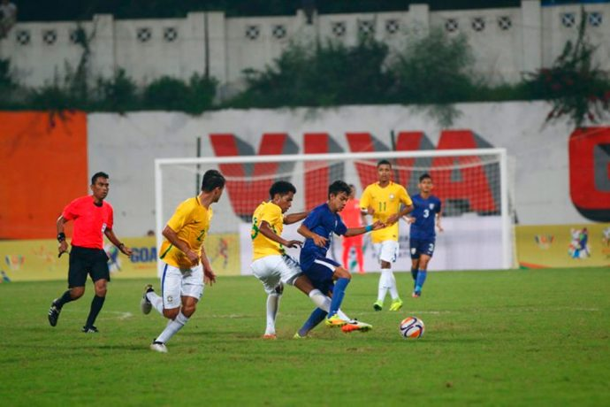 Spirited India taste defeat against Brazil in BRICS U-17 Football Tournament