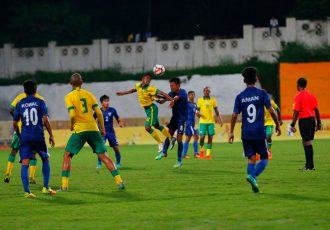 India lose against South Africa in BRICS U-17 Football Tournament. (Photo courtesy: AIFF Media)