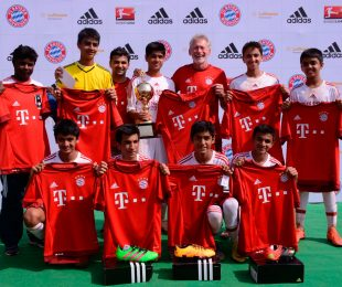 adidas to organise fourth FC Bayern Youth Cup in India. (Photo courtesy: adidas India)