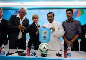 FIFA delegation confirm Kolkata as FIFA U-17 World Cup India 2017 venue. (Photo courtesy: AIFF Media)