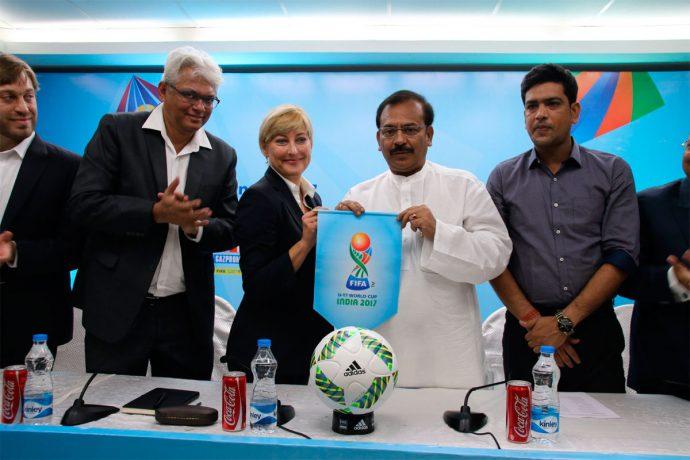 FIFA delegation confirm Kolkata as FIFA U-17 World Cup India 2017 venue. (Photo courtesy: AIFF Media)