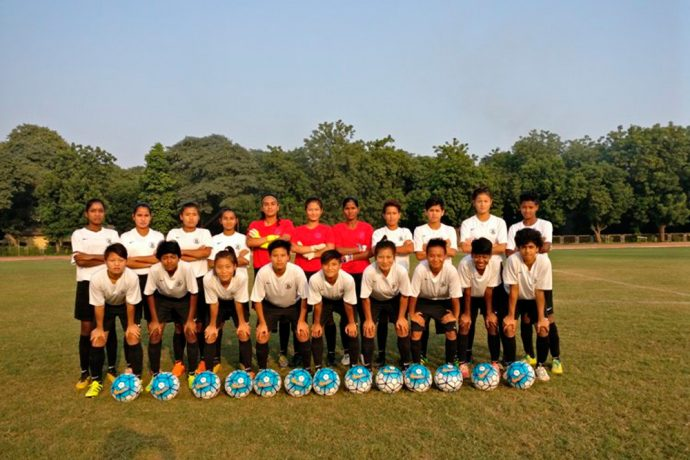 20 players shortlisted for AFC U-19 Women's Championship Qualifiers in Vietnam (Photo courtesy: AIFF Media)