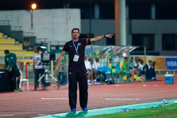 India U-16 National Team Head Coach Nicolai Adam. (Photo courtesy: AIFF Media)