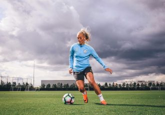 Manchester City Women's FC star player Toni Duggan. (Photo courtesy: Nike)