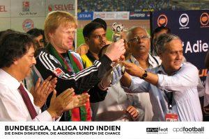 Unvergessliche Momente für Oliver Kahn in Kalkutta, Indien im Jahre 2008. (© arunfoot / CPD Football)