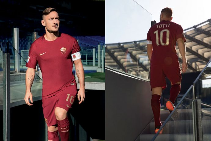 AS Roma to wear special Nike kit for the Derby Della Capitale (Photo courtesy: Nike)