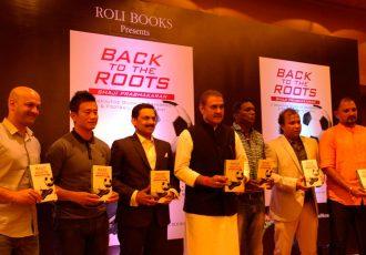 """Shaji Prabhakaran takes all """"Back To The Roots"""" (Photo courtesy: AIFF Media)"""