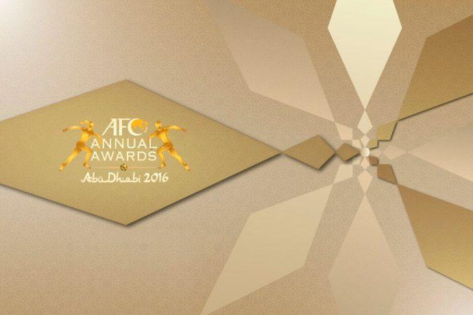 AFC Annual Awards Abu Dhabi 2016
