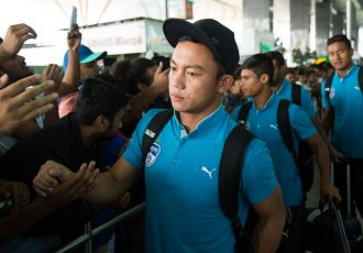 Bengaluru FC return home following their AFC Cup Final against Air Force Club in Doha. (Photo courtesy: Bengaluru FC)