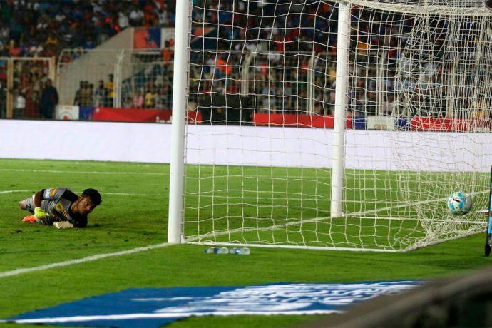 Atlético de Kolkata score late to break Goan hearts (Photo courtesy: FC Goa)