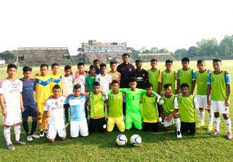 30 boys join the Kalyani-leg of the FIFA U-17 World Cup Scouting Programme (Photo courtesy: AIFF Media)